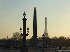 Gorgeous Sunset (m_artijn) Tags: paris concorde fr obelisk obélisque tour eiffel tower sunset golden hour place