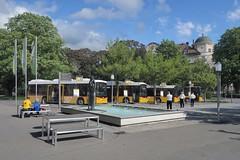Bad Ragaz - Bus Stop SBB (Kecko) Tags: 2019 kecko switzerland swiss schweiz suisse svizzera ostschweiz sg badragaz bahnhof station sbb cff ffs postauto postbus verkehr traffic transport bushaltestelle busstop swissphoto geotagged geo:lat=47010180 geo:lon=9505000