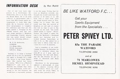 Watford vs Gillingham - 1974 - Page 6 (The Sky Strikers) Tags: watford gillingham official programme football league division three vicarage road 10p