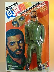 Hasbro – Adventure Team – Muscle Body – Eagle Eye Land Commander – Green Army Uniform Variation – Front (My Toy Museum) Tags: g i joe hasbro adventure team muscle body action figure eagle eye land commander