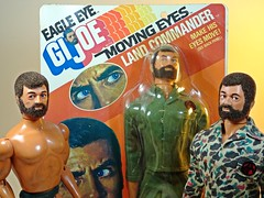 Hasbro – Adventure Team – Muscle Body – Eagle Eye Land Commander – Green Army Uniform Variation – Muscle Bros (My Toy Museum) Tags: g i joe hasbro adventure team muscle body action figure eagle eye land commander