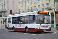 Compass Bus 4004 SN55DUU (Will Swain) Tags: worthing 5th january 2019 bus buses transport travel uk britain vehicle vehicles county country england english sussex south coast compass 4004 sn55duu