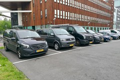 Vans of Mercedes-Benz and Volkswagen (Michiel2005) Tags: van bus mercedesbenz volkswagen mb vw vito transporter crafter leiden nederland netherlands holland