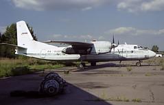 RA-83968 - Moscow Zhukovsky (ZHU) 17.08.2001 (Jakob_DK) Tags: an24 antonov antonov24 antonovan24rv an24rv uubw zia moscowzhukovsky zhukovskyinternationalairport gai gromovair 2001 ra83968