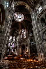 _DSC6019_Enhancer b (busb) Tags: busb ely cambridgeshire england uk church cathedral elycathedral globe model moon hdrfromasingleraw raw indoors hdr tonemapped nikon d700 photomatix psp2018 crossing norman architecture normanarchitecture octagonaltower dark inside 2019 1635mmf4vr