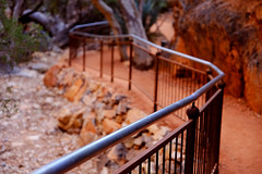 Standley Chasm Walkway (Rob Harris Photography) Tags: australia arid northernterritory outdoors outback tourism tourist country red redcentre desert remote gorge chasm canyon rock rockformation ochre orange travel travelphotography wanderlust scenic scenery landscape landscapephotography sacredplace traditionalowners