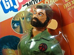 Hasbro – Adventure Team – Muscle Body – Eagle Eye Land Commander – Green Army Uniform Variation – Close Up (My Toy Museum) Tags: g i joe hasbro adventure team muscle body action figure eagle eye land commander