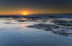 Clear Skies Sunrise Seascape (Merrillie) Tags: sunrise nature australia toowoonbay newsouthwales rocks rockpavement sun coast beach ocean sea water landscape coastal nsw outdoors seascape northshellybeachdogbeach centralcoast dawn waves