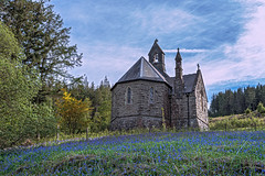 Nantqwyllt Church,Elan Valley (microwyred) Tags: landscape church old scenics rhayader places builtstructure chapel religion ruralscene blue buildingexterior famousplace nature christianity outdoors elanvalley history sky summer cultures europe architecture landscapes