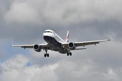 'BA12DT' (BA0867) BUD-LHR (A380spotter) Tags: approach arrival landing finals shortfinals airbus a320 200 geuyg toflytoserve emblem achievement crest coatofarms internationalconsolidatedairlinesgroupsa iag britishairways baw ba ba12dt ba0867 budlhr runway27r 27r london heathrow egll lhr