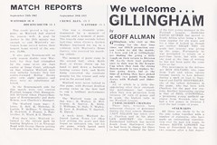 Watford vs Gillingham - 1974 - Page 4 (The Sky Strikers) Tags: watford gillingham official programme football league division three vicarage road 10p