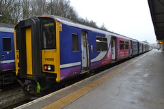 Northern Sprinter 150268 (Will Swain) Tags: buxton station 6th january 2019 train trains rail railway railways transport travel uk britain vehicle vehicles england english europe peak district northern sprinter 150268 class 150 268