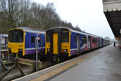 Northern Sprinter 150139 & 150268 (Will Swain) Tags: buxton station 6th january 2019 train trains rail railway railways transport travel uk britain vehicle vehicles england english europe peak district northern sprinter 150268 class 150 268 150139 139