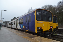 Northern Sprinter 150142 (Will Swain) Tags: buxton station 6th january 2019 train trains rail railway railways transport travel uk britain vehicle vehicles england english europe peak district class 150 northern sprinter 150142 142