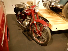 1955 Triumph Terrier 150cc (andrewgooch66) Tags: classic vintage veteran heritage preserved motorcycle motorcycles prewar ww2 postwar specials racers police