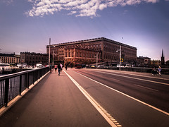 Royal Palace (Maria Eklind) Tags: castle drottningholm royalpalace bro strömbron slott kungligaslottet sweden stockholm bridge city stockholmslän sverige