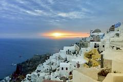 (Christos MRA) Tags: sunset christoskrallis oia santorini aegean greece