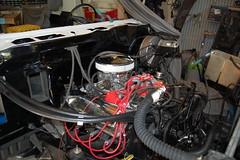 DSC_7319 (munich-cc) Tags: ford bronco restauration resto repair reparatur renew rework restore motor 351 351m v8 munich münchen cable kabel work workshop wiring harness isolation