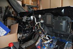 DSC_7322 (munich-cc) Tags: ford bronco restauration resto repair reparatur renew rework restore motor 351 351m v8 munich münchen cable kabel work workshop wiring harness isolation