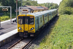 Merseyrail 508128 (Mike McNiven) Tags: serco abellio merseyrail meseyside westkirby kirby bidston liverpool liverpoolcentral emu electric multipleunit