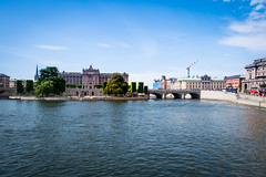 The Swedish Parliament (Maria Eklind) Tags: castle drottningholm slott kungligaslottet city stockholm theswedishparliament sweden sverigesriksdag stockholmslän sverige