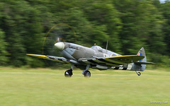 La Ferté Alais (Anthony.Rué) Tags: ajbs airplane airshow avion aéroport nikon nikon200500 d500 warbird ww2 spitfire rollsroyce merlin