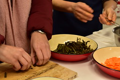 DSC_0785 (hattiebee) Tags: aizu wakamatsu japan hands cooking women food preparation
