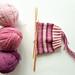 Socks - Roze streepjessokken -1