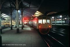 c.01/1985 - York. (53A Models) Tags: britishrail brush brcw class110 metcamm class101 dmu class31 31459 diesel passenger york train railway locomotive railroad