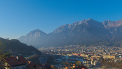 Innsbruck-2018_24 (rhomboederrippel) Tags: rhomboederrippel fujifilm xe1 november 2018 europe austria tyrolia innsbruck alps bergisel blue mountains nordkette city sunny clearsky astoundingimage