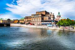 Royal Swedish Opera (Maria Eklind) Tags: castle drottningholm operaterassen operakällaren slott kungligaslottet city stockholm royalswedishopera kungligaoperan sweden stockholmslän sverige