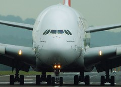 A6-EDD (HughGibson1584) Tags: aircraft aeroplane a380 emirates egpf glasgow jet