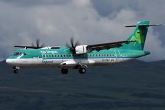 EI-FAX Stobart Air 'Aer Lingus Regional' ATR 72-600 at Glasgow International Airport on 9 June 2019 (Zone 49 Photography) Tags: aircraft airliner aeroplane june 2019 glasgow scotland egpf gla abbotsinch airport re stk aer lingus regional stobart air atr 72 atr72 600 eifax