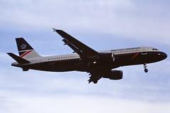 G-BUSH A320 British airways LHR 19-06-93 (cvtperson) Tags: gbush a320 british airways london heathrow lhr egll
