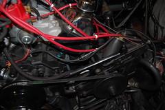 DSC_7331 (munich-cc) Tags: ford bronco restauration resto repair reparatur renew rework restore motor 351 351m v8 munich münchen cable kabel work workshop wiring harness isolation