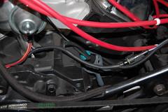 DSC_7333 (munich-cc) Tags: ford bronco restauration resto repair reparatur renew rework restore motor 351 351m v8 munich münchen cable kabel work workshop wiring harness isolation