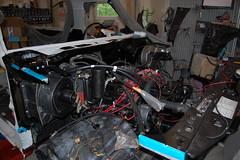 DSC_7336 (munich-cc) Tags: ford bronco restauration resto repair reparatur renew rework restore motor 351 351m v8 munich münchen cable kabel work workshop wiring harness isolation