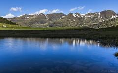 Basses del Siscaró, Principat d'Andorra (kike.matas) Tags: canon canoneos6d canonef1635f28liiusm kikematas bassesdelsiscaró valldincles siscaró reflejos solysombra montaña agua senderismo excursión hiking nature nubes lightroom6 андорра
