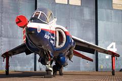 327A5584mc (Air Show Fan) Tags: vaac harrier t4 cosford xw175 hawker siddeley aviation raspberry ripple qinetiq