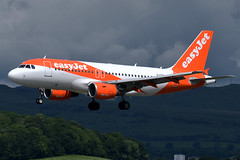 G-EZAI EasyJet Airbus A319-111 at Glasgow International Airport on 9 June 2019 (Zone 49 Photography) Tags: aircraft airliner aeroplane june 2019 glasgow scotland egpf gla abbotsinch airport u2 ezy easyjet airbus a319 319 100111 gezai