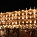 Lateral fachada  plaza Mayor