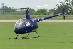 Robinson R22 G-OSHL (Gavin Livsey) Tags: sloanehelicopters sywell r22 robinson goshl