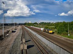 20901 and 20905 pass Washwood Heath (robmcrorie) Tags: 20901 20905 s stock london underground last run washwood heath yard nikon d850 gbrf class 20