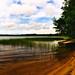 Le lac de Saint-Girons