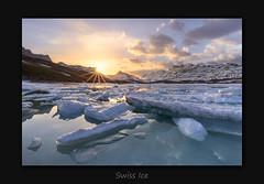Swiss Ice (MC--80) Tags: swiss ice lake switzerland