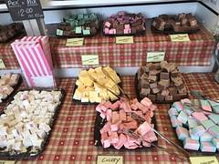 Photo of Nougat and fudge market stall, Stratford upon Avon