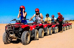 Quad bike, marsa alam safari (flyingcarpettoursegypt) Tags: marsa alam excursions tours trips holidays day things do
