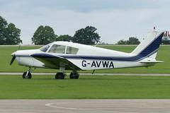 Piper PA-28-140 Cherokee G-AVWA (Gavin Livsey) Tags: sywell cherokee pa28 gavwa