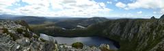 Panorama auf dem Crater Peak (Alfesto) Tags: australien au australia tasmanien tasmania wanderung trekking cradlemountain craterpeak
