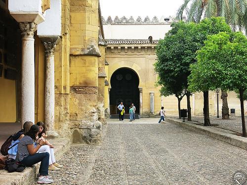 Patio de los Naranjos en Córdoba